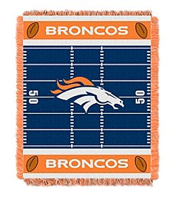 NFL® Denver Broncos Baby Jacquard Field Throw