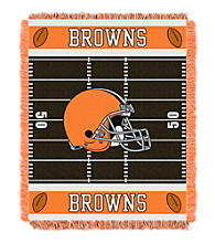Cleveland Browns Baby Jacquard Field Throw