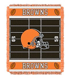 NFL® Cleveland Browns Baby Jacquard Field Throw