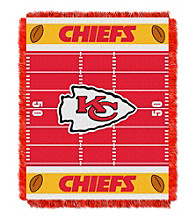 Kansas City Chiefs Baby Jacquard Field Throw