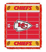 Kansas City Chiefs Baby Jacquard Field Throw