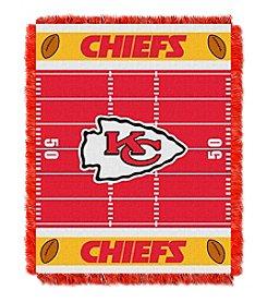 NFL® Kansas City Chiefs Baby Jacquard Field Throw