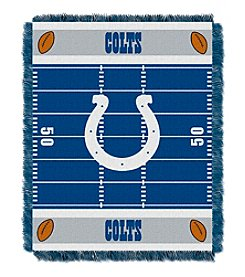 NFL® Indianapolis Colts Baby Jacquard Field Throw