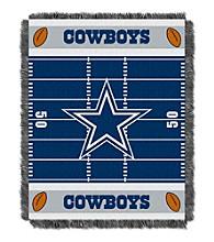 Dallas Cowboys Baby Jacquard Field Throw