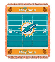 Miami Dolphins Baby Jacquard Field Throw