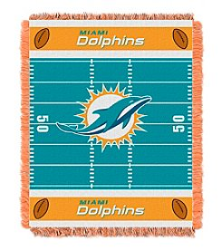 NFL® Miami Dolphins Baby Jacquard Field Throw