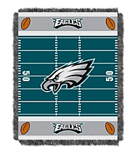 Philadelphia Eagles Baby Jacquard Field Throw