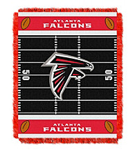 Atlanta Falcons Baby Jacquard Field Throw