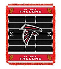 Atlanta Falcons Baby Jacquard Field Throw
