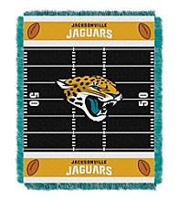 Jacksonville Jaguars Baby Jacquard Field Throw