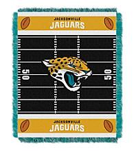 Jacksonville Jaguars Baby Jacquard Field Throw