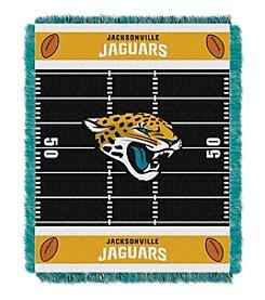 NFl® Jacksonville Jaguars Baby Jacquard Field Throw