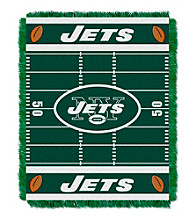 New York Jets Baby Jacquard Field Throw