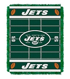 NFL® New York Jets Baby Jacquard Field Throw
