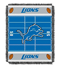 Detroit Lions Baby Jacquard Field Throw
