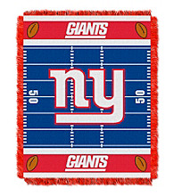 New York Giants Baby Jacquard Field Throw