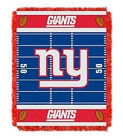 NFL® New York Giants Baby Jacquard Field Throw