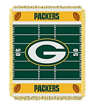 Green Bay Packers Baby Jacquard Field Throw