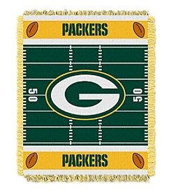 NFL® Green Bay Packers Baby Jacquard Field Throw