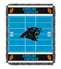 Carolina Panthers Baby Jacquard Field Throw