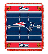 New England Patriots Baby Jacquard Field Throw
