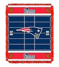 New England Patriots Baby Jacquard Field Throw