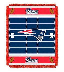 NFL® New England Patriots Baby Jacquard Field Throw
