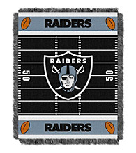 Oakland Raiders Baby Jacquard Field Throw