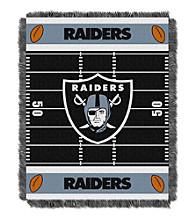 Oakland Raiders Baby Jacquard Field Throw