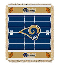 St. Louis Rams Baby Jacquard Field Throw