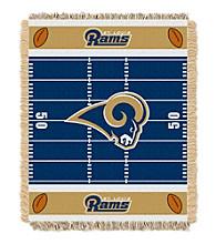 St. Louis Rams Baby Jacquard Field Throw