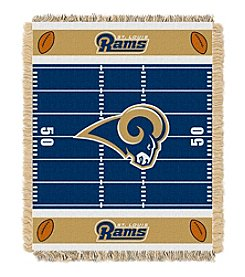 NFL® St. Louis Rams Baby Jacquard Field Throw