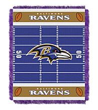 Baltimore Ravens Baby Jacquard Field Throw