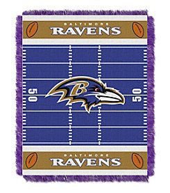NFL® Baltimore Ravens Baby Jacquard Field Throw