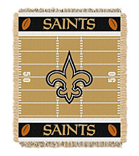 New Orleans Saints Baby Jacquard Field Throw