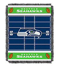 Seattle Seahawks Baby Jacquard Field Throw