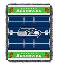 Seattle Seahawks Baby Jacquard Field Throw