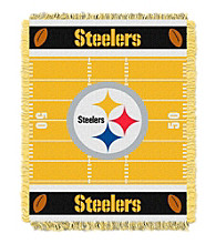 Pittsburgh Steelers Baby Jacquard Field Throw