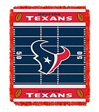 Houston Texans Baby Jacquard Field Throw