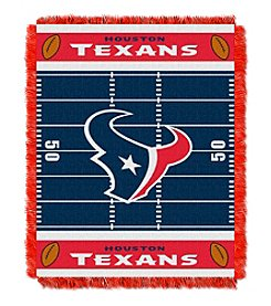 NFL® Houston Texans Baby Jacquard Field Throw