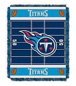 NFL® Tennessee Titans Baby Jacquard Field Throw