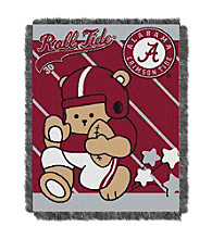 University of Alabama Baby Jacquard Fullback Throw