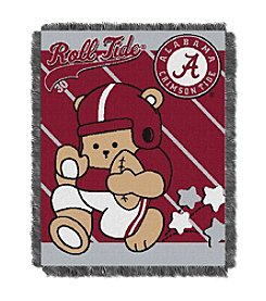NCAA® University of Alabama Baby Jacquard Fullback Throw
