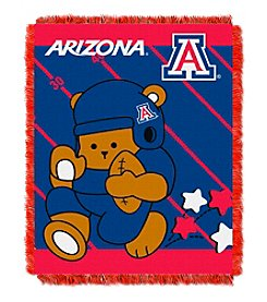 NCAA® University of Arizona Baby Jacquard Fullback Throw