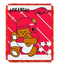 University of Arkansas Baby Jacquard Fullback Throw
