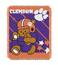 Clemson University Baby Jacquard Fullback Throw