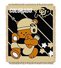 University of Colorado Baby Jacquard Fullback Throw