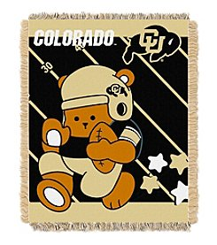 NCAA® University of Colorado Baby Jacquard Fullback Throw