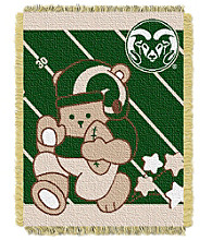 Colorado State University Baby Jacquard Fullback Throw