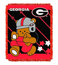 University of Georgia Baby Jacquard Fullback Throw